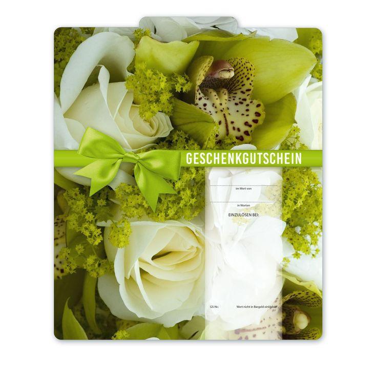 Bestell-Nr. BL245, Multicolor-Geschenkgutscheine für den Blumenhandel!
