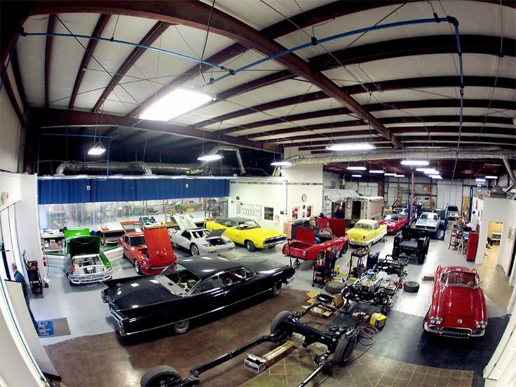 107 best motorcycle and car workshops images on pinterest dream garage garages and workshop - American motorbike garage ...