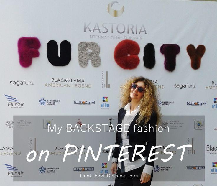 BACKSTAGE fashion!  Kastoria International Fur Fair 2016 by Think-Feel-Discover.com