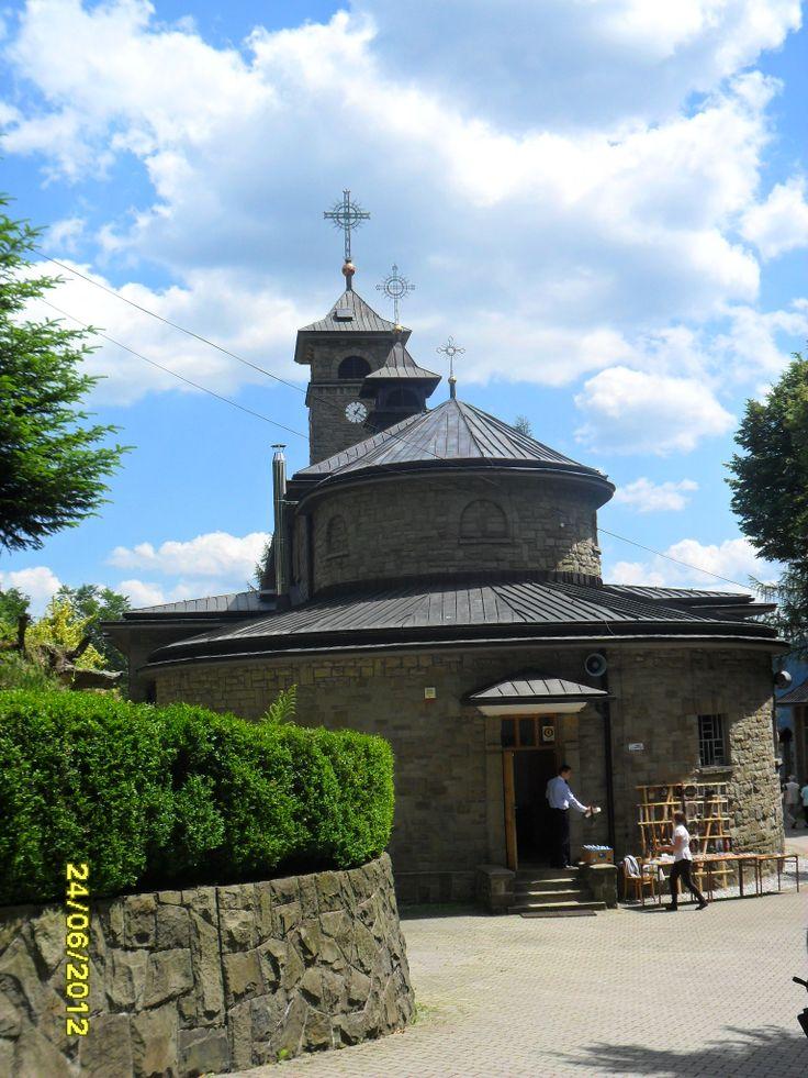 Beskid Śląski - Sanktuarium Matki Boskiej w Szczyrku Biłej / Silesia beskid -  Shrine of Our Lady in Szczyrk  Bílá , Poland