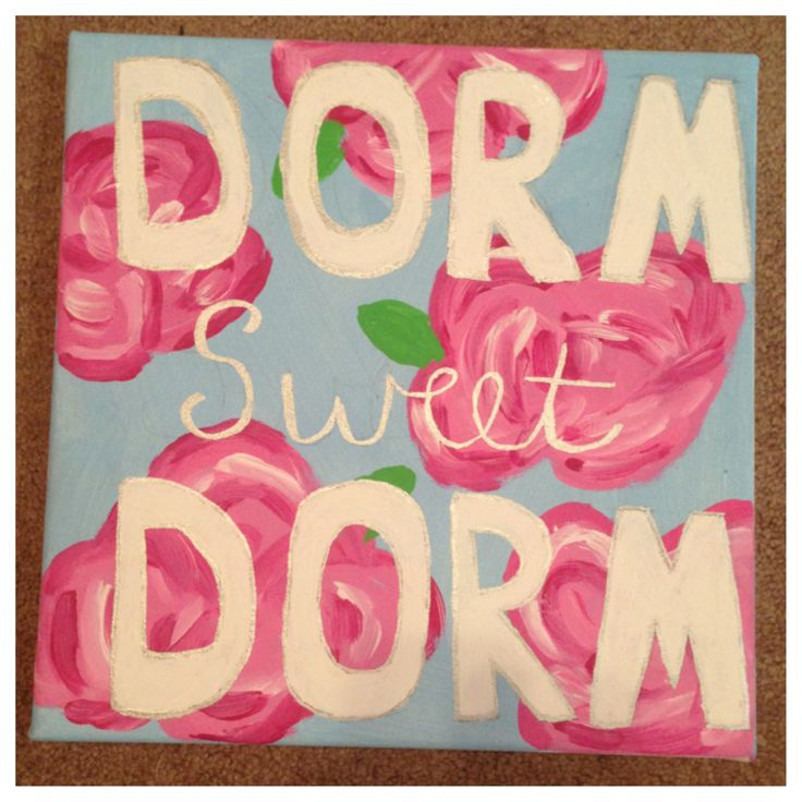 @Katie Thompson We shall make this for our room! Maybe a canvas above the door! I've got all the supplies to do it :)