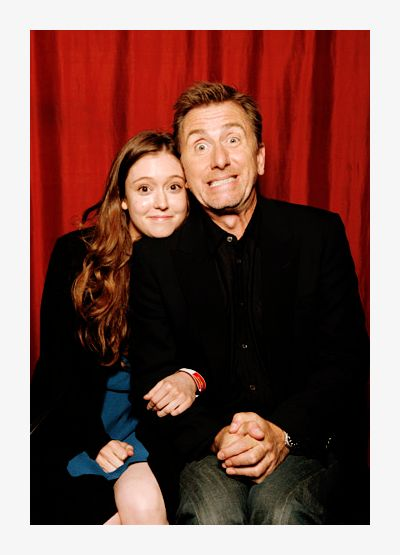Hayley McFarland & Tim Roth from Lie To Me