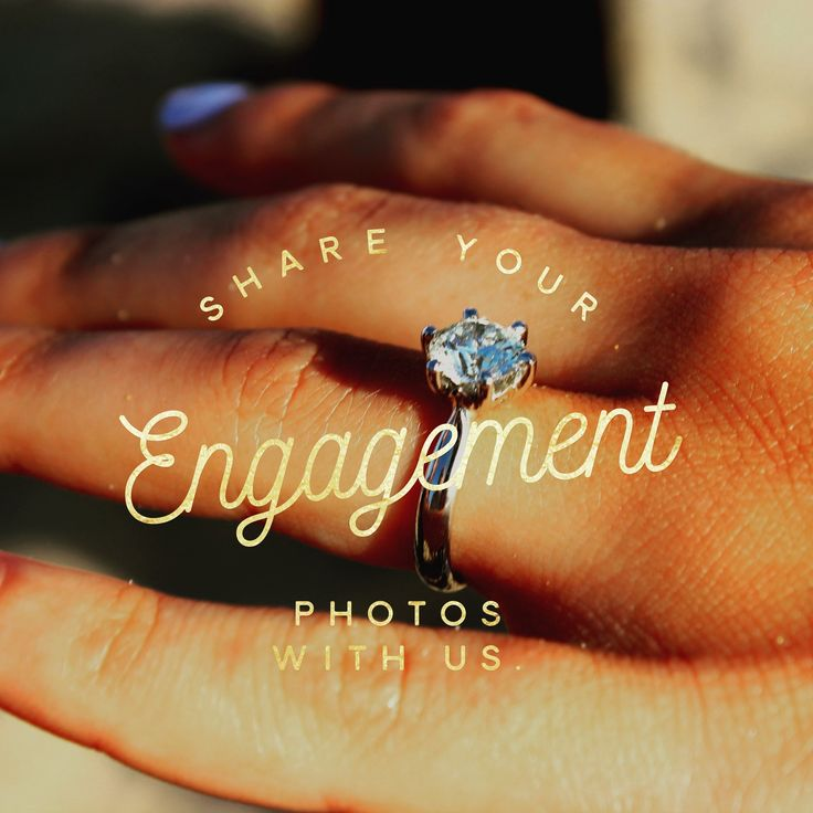 Share your Engagement Photos with Us. -