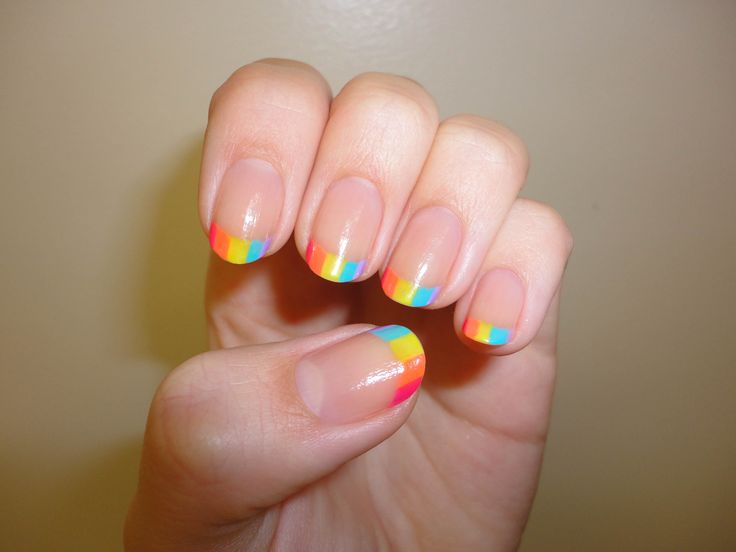 37 best Manis 2 try - French or Funky Tips images on Pinterest ...