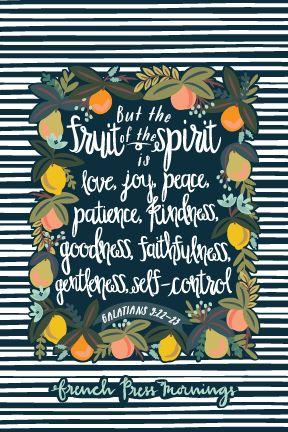 French Press Mornings - Galatians 5:22-23