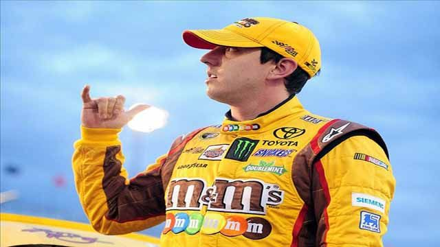 Kyle Busch Wins The Pole AT Phoenix