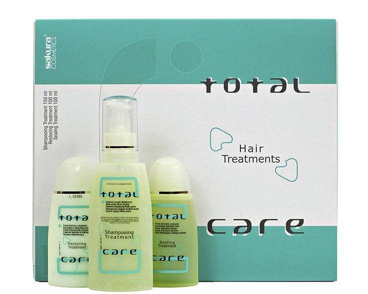 Набор по уходу от корней до кончиков волос TOTAL CARE HAIR BOX