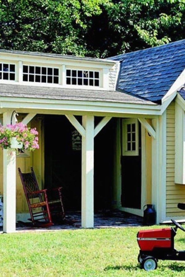 29 Awesome Potting Shed repurposed ideas for your backyard outdoor - Potting Shed Designs