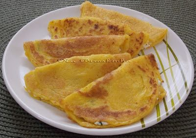 Cachapas - Panquecas de Milho Verde - Na Biroskinha