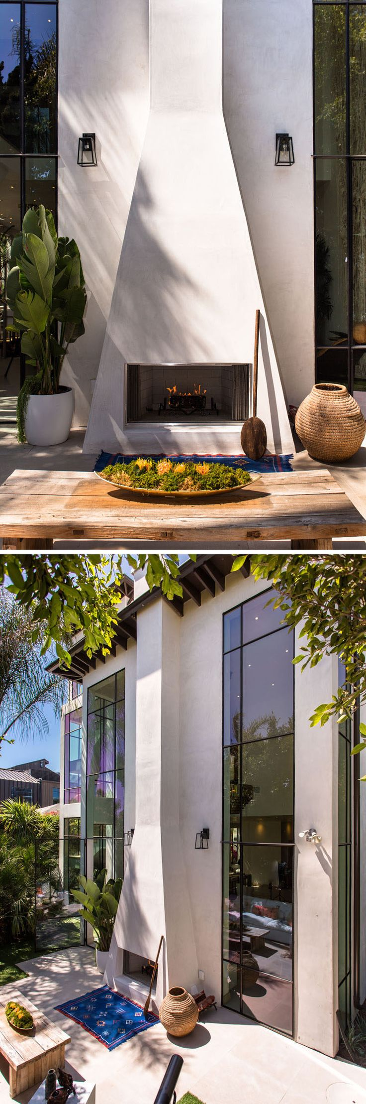 Hillside california home with gorgeous outdoor spaces - This Art Filled California Home Has A Venice Beach Vibe