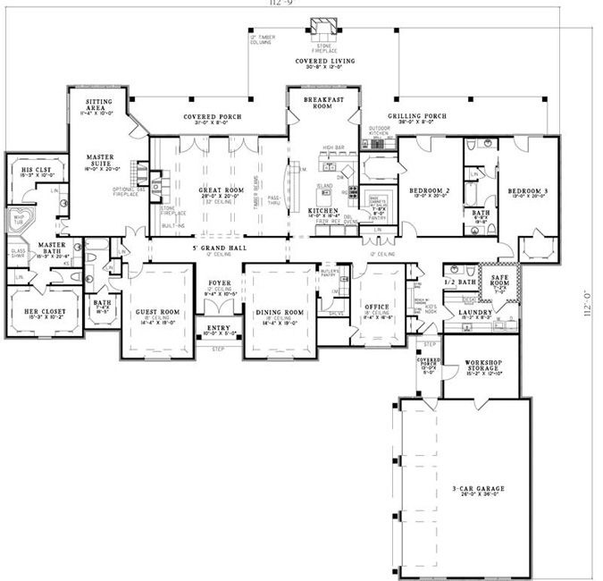 4 Home Baths And Closets Her His Bathroom Her Plans And Bedrooms 5 His