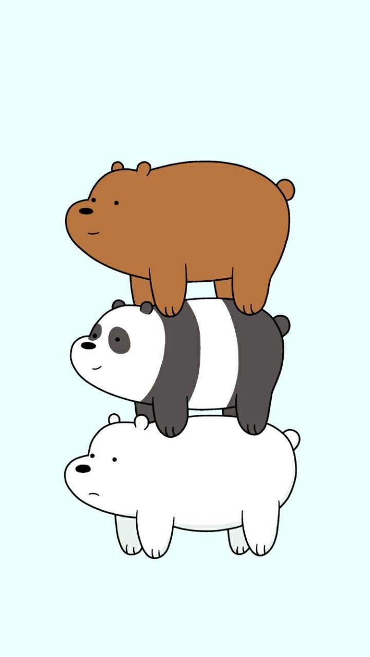 We bare bears wallpaper Escandalosos, Panda fondos