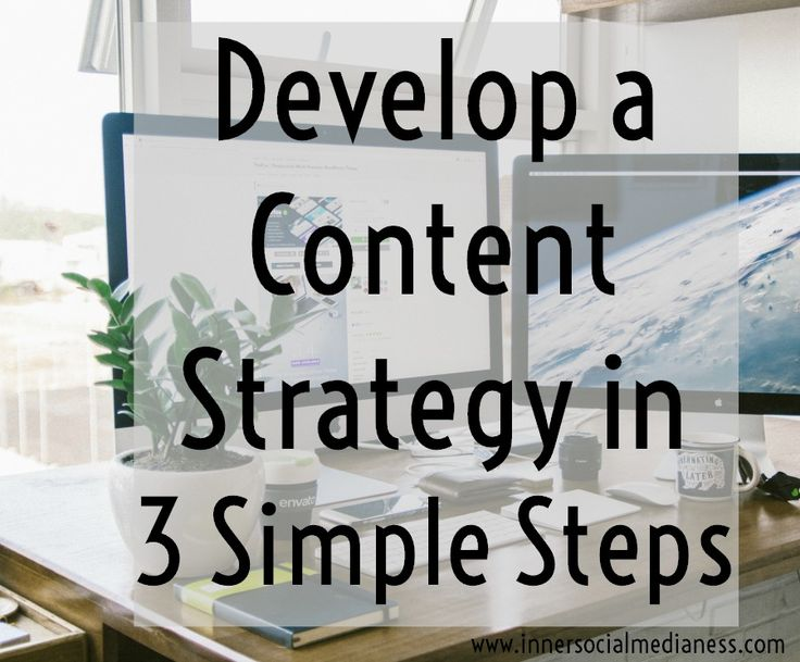 Develop a content strategy in 3 simple steps - Your goal is to share valuable content that will help your followers make their life easier, help them do something quicker or solve a problem they've thinking about for awhile. Here's 3 simple steps to make that happen.  via @penneyfox