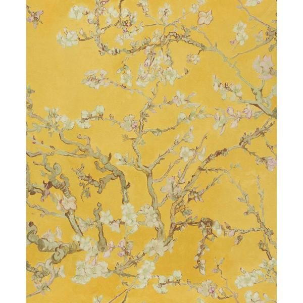 Walls Republic Fabric Patchwork Wallpaper Yellow Paper Strippable Roll Covers 57 Sq Ft R2791 The Home Depot Wallpaper Cool Yellow Wallpapers Valentines Wallpaper
