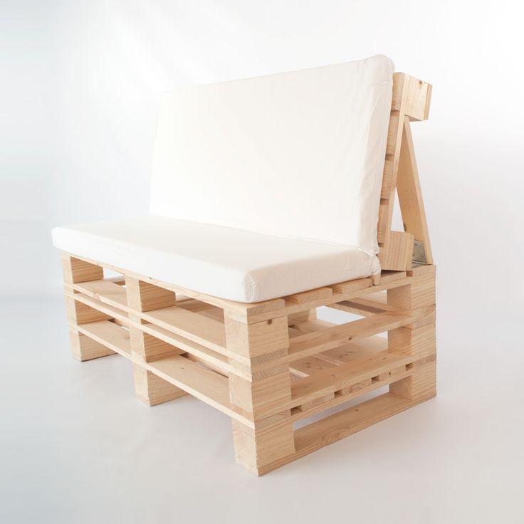 M s de 25 ideas incre bles sobre sofas hechos con palets for Articulos hechos con palets
