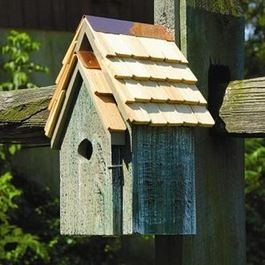 Traditional Birdhouses