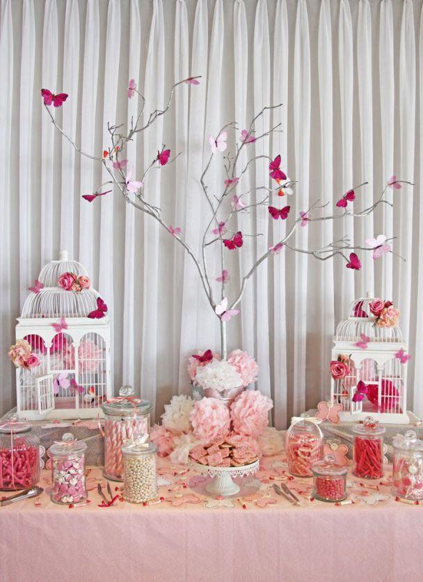 7 ideas para una mesa de dulces para baby shower