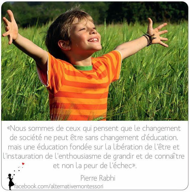 Alternatives: Citation // Pierre Rabhi