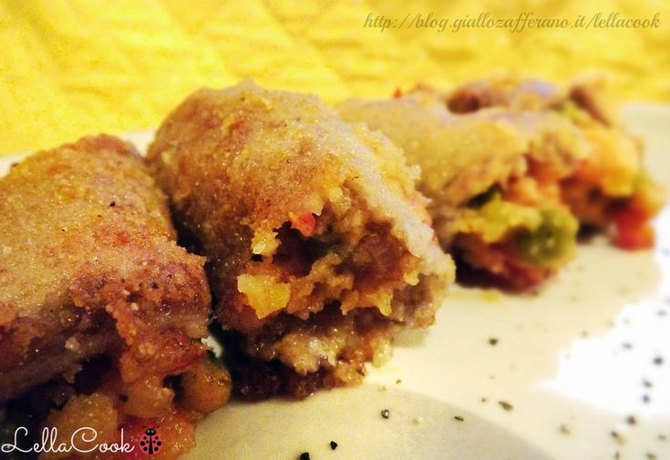 Involtini di carne ripieni  - http://blog.giallozafferano.it/lellacook/involtini-di-carne-ripieni/