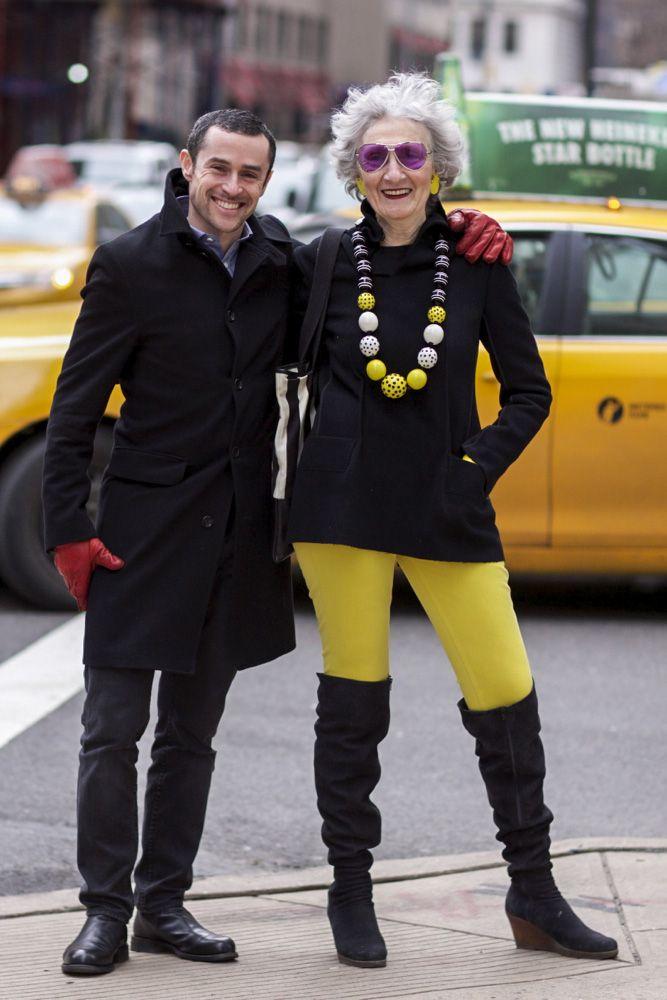Smashing!! NYFW street style; Liz Friedman on Madison Avenue.