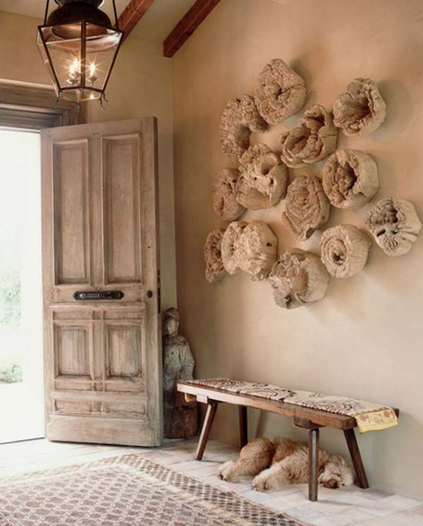 Beau Decorating With Driftwood Around The Home With Amazing DIY Ideas. Driftwood  Wall ArtDriftwood ...