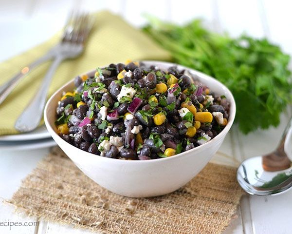 Who would turn down this Black Bean #Corn #Salad #recipe?