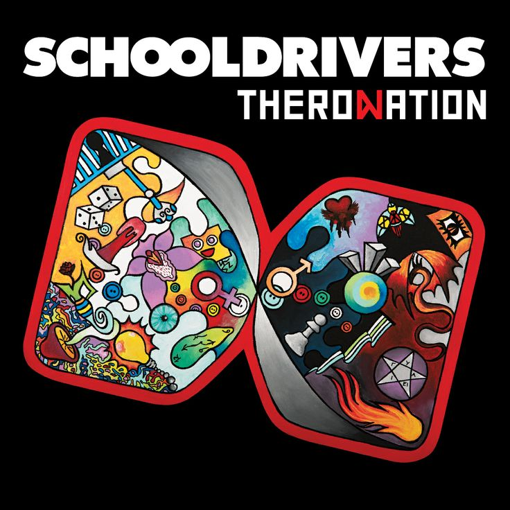 Theronation - Schooldrivers new album!