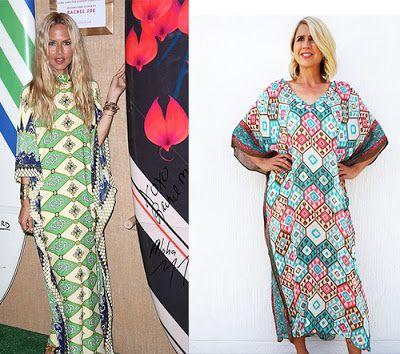 Rachel Zoe Kaftan Get the Look... Our 5 Favourite Fashionista Mums