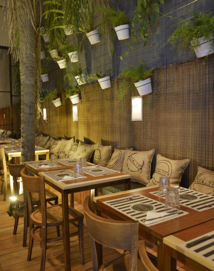 273 mejores im genes sobre restaurantes int en pinterest for Restaurante casa jardin
