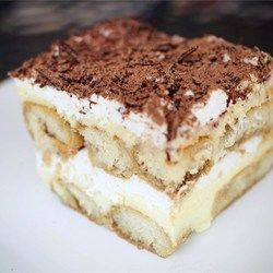 Tiramisu II Allrecipes.com - over 900 5 star ratings, pinned over 6,000 times - try this one!
