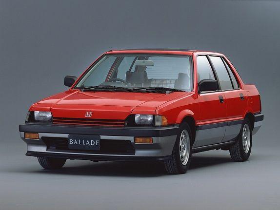 Honda Ballade (1983).
