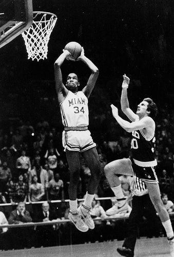 Ron Harper in college