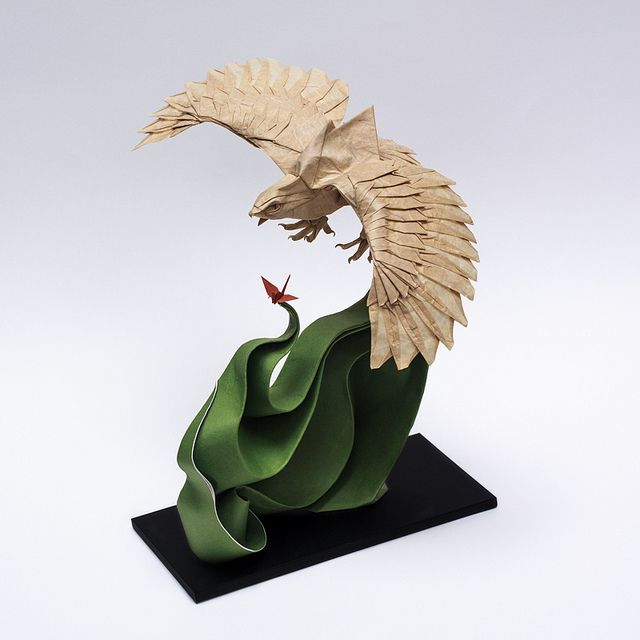 Incredible Origami Animal Sculptures by Cuong Nguyen