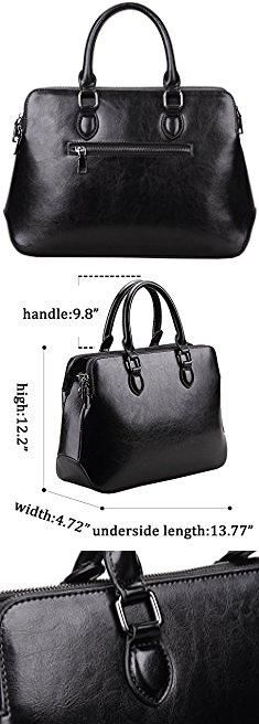 Zara Office City Bag. Heshe Leather Womens Handbags Totes Top Handle Bags Shoulder Bag Satchels for Ladies with Long Cross Body Strap Structured Designer Purses (Black-r).  #zara #office #city #bag #zaraoffice #officecity #citybag
