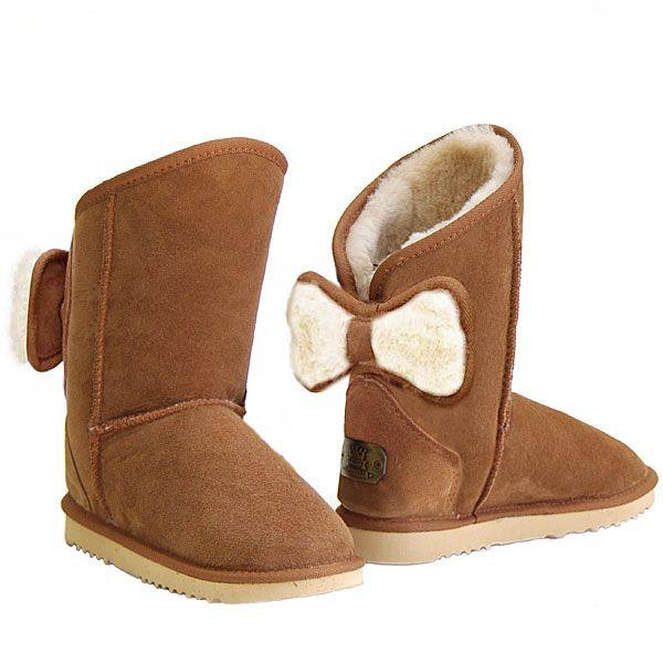 http://www.uggbootsmadeinaustralia.com.au/Shearling-Bow-Melba-Ugg-Boots-Chestnut.aspx