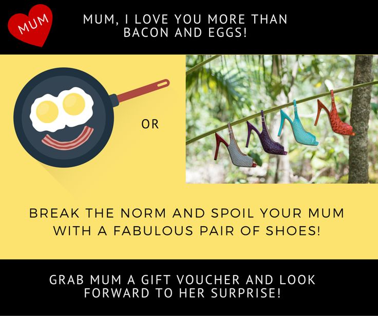 If your mum is a bit fussy (like mine), or you are concerned about picking the right pair, surprise her with a gift voucher so she can choose the exact pair she likes. You can purchase GIFT CERTIFICATES FROM $20 HERE so your mum can choose her favourites and redeem it any time in the next 13 months! http://scarlettos.com.au/giftcertificates.php