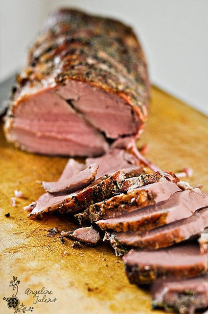 Slow-Roasted Beef (adapted from America's Test Kitchen)