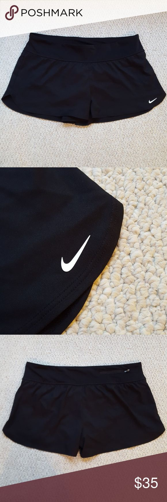 You soon! Nike swim shorts NWT Black Nike swim shorts! Perfect condition. Fully lined with nice zippered pocket in back see picture Nike Shorts