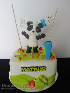 Doces Opções: O Panda no 1º aniversário do Mateus