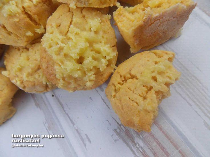 Burgonyás gluténmentes pogácsa - egy újabb klasszikus recept GM változatban A pogácsa egy igazi multifunkcionális sós süti. Vendégvárónak, reggelire vagy akár tízóraira is tökéletes. Olcsó, rizslisztes burgonyás gluténmentes pogácsa