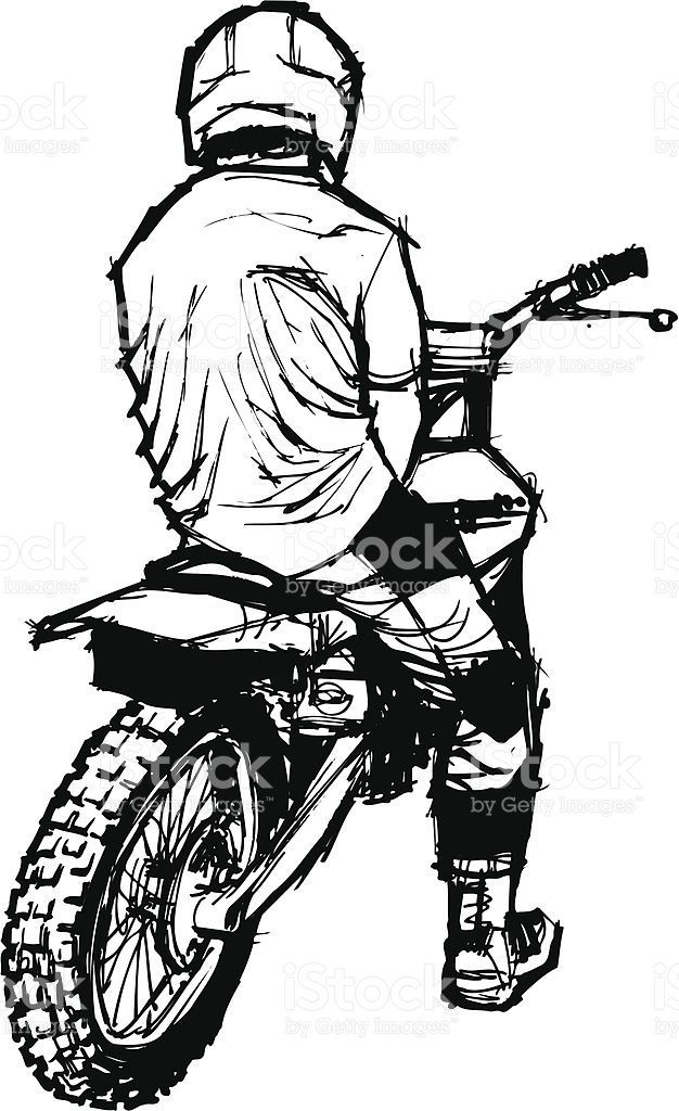 Motorcycle Helmet Outline Clip Art