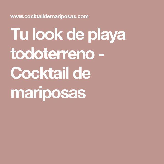 Tu look de playa todoterreno - Cocktail de mariposas