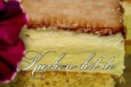 Rezepte für ausgefallene Kuchen mit Creme - Alle Kuchenrezepte mit Bildern und toller Anleitung zum Nachbacken.