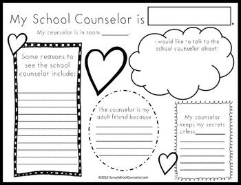 My School Counselor is... SAVVY SCHOOL COUNSELOR - TeachersPayTeachers.com