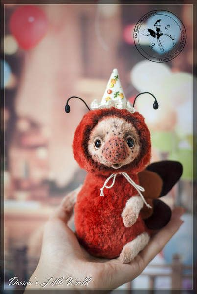 Ale Hop the Butterfly by Darina Matasova
