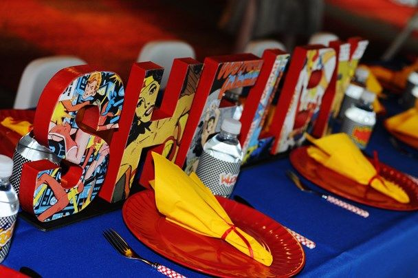 We Heart Parties: Wonder Woman Birthday Party