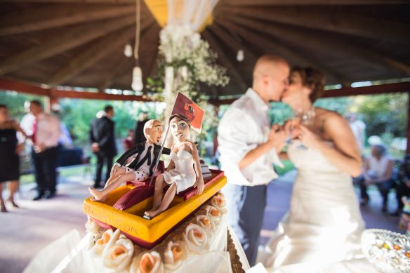 Cake topper Tiziana&Alessandro