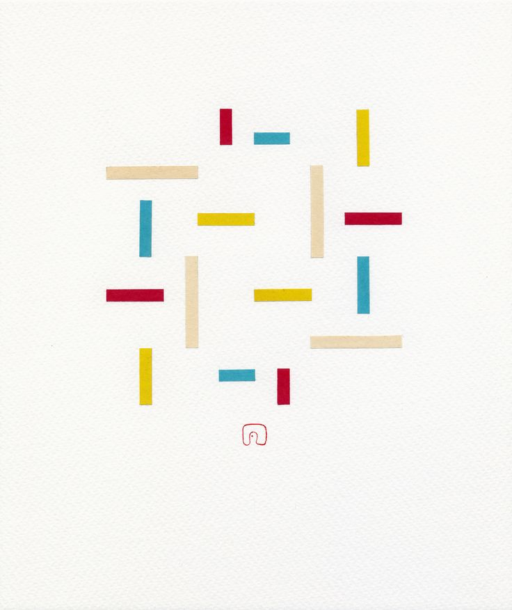 The Composition B08 - 21 x 25 cm / Art by Slavomir Zombek