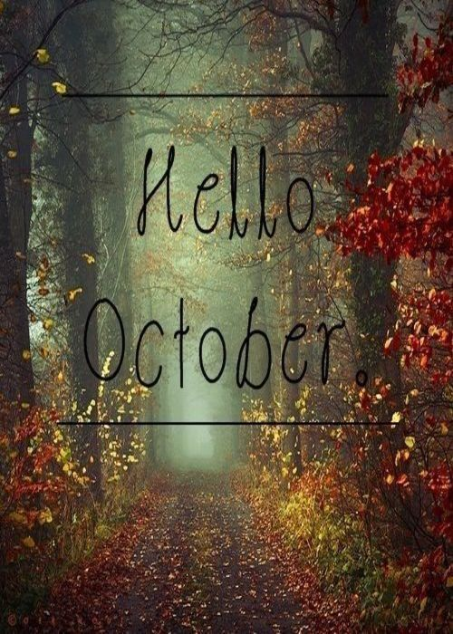 Captivating Hello October More