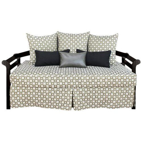 Fabulous Fitted Daybed Covers With Many Pillows                                                                                                                                                                                 More